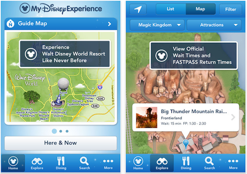 My disney experience mobile app for apple and android disneyways mde1 gumiabroncs Images