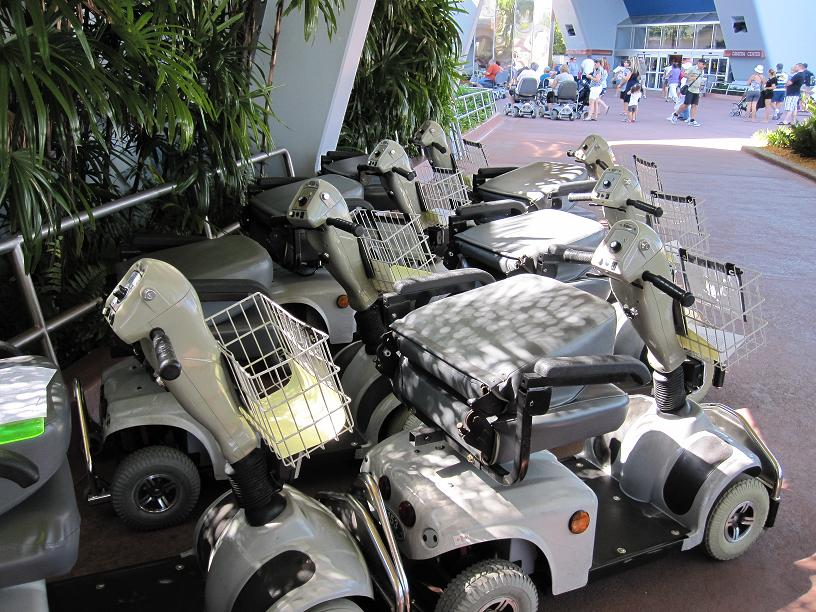 We want our mtv i mean ecv disneyways for Motorized scooter rental orlando