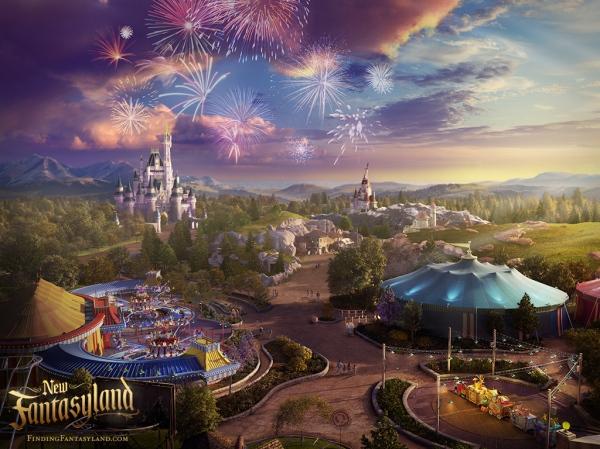 fantasyland view