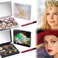 Recreate Michelle Williams' ethereal, spellbinding look from the film with The Glinda Palette or copy Mila Kunis' captivating, edgy onscreen look with The Theodora Palette.