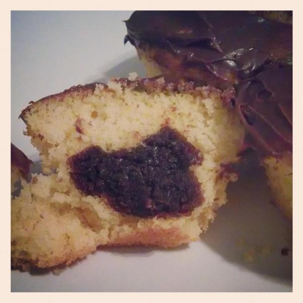 hidden mickey cupcake