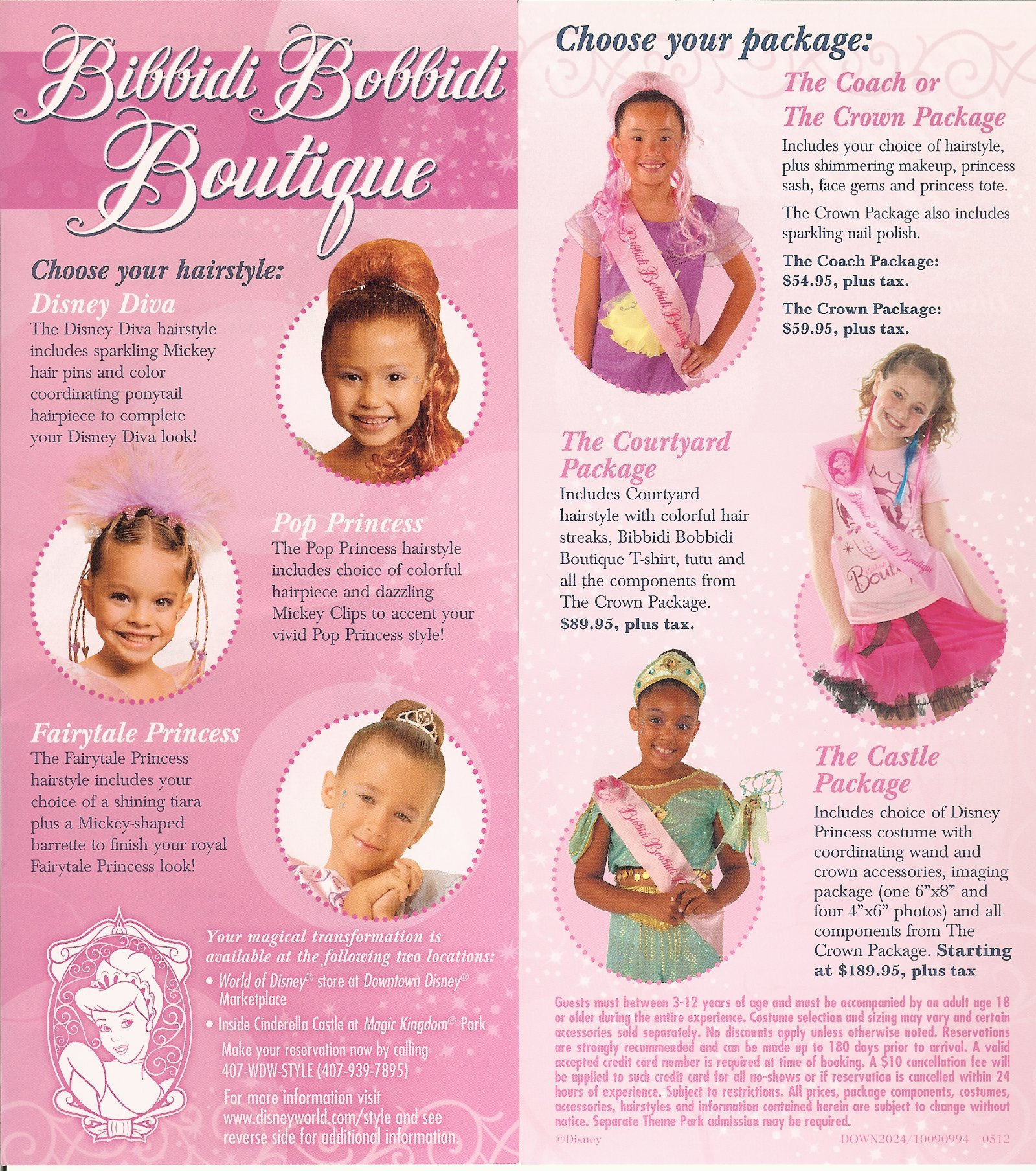 Magical Makeovers at the Bibbidi Bobbidi Boutique | Disneyways