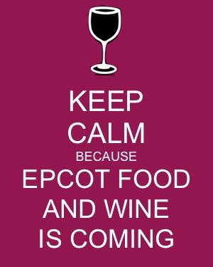 keep calm epcot food and wine