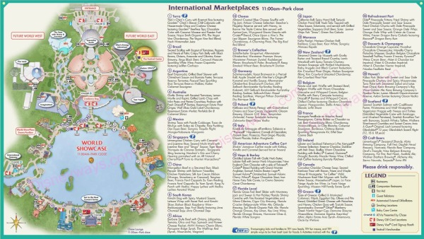 food and wine map DW