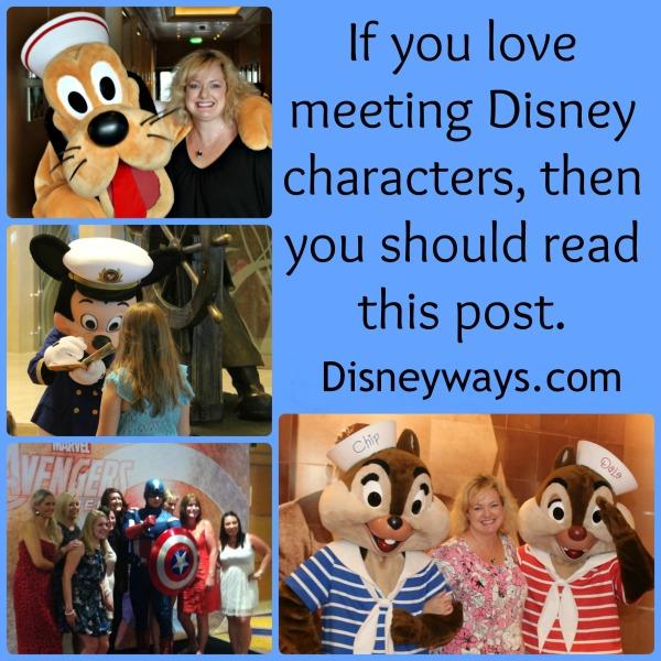 love meeting characters