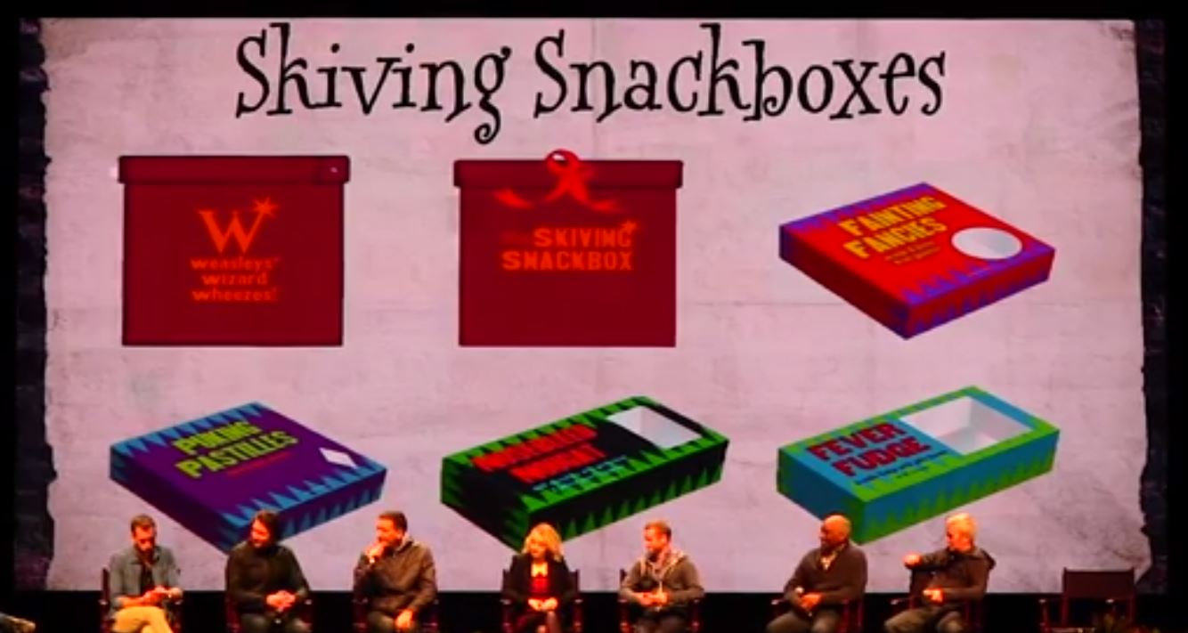 Skiving Snackboxes