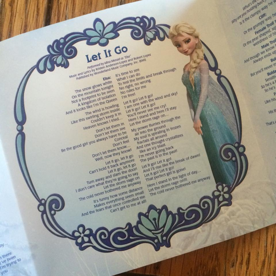 """disney """"frozen the songs"""" review and giveaway 