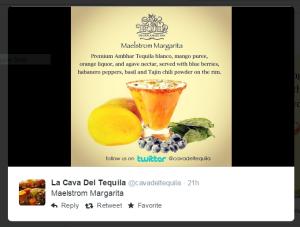 La Cava Del Tequila Maelstrom Margarita