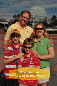Celebrate DadAt Walt Disney World-2